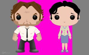 The Wolf Among Us - Pop Vinyl by ethanholbert