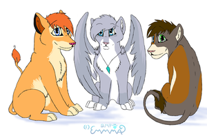 Chibi For FeliTheLioness by Monstaria