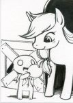 Nemu Meets Applejack by nemu-nemu
