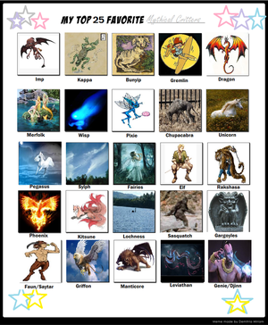 25 Favorite Mythical Figures