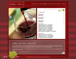 Awards page for Dillian Wines by DonelleJenae