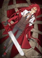 Grell The Shinigami by Eternal-S