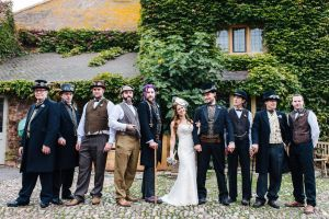 Paul and Danielle Steampunk Wedding 5 by HyperXP