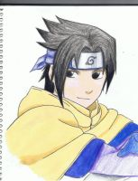 sasuke from 1st movie by rokhead423