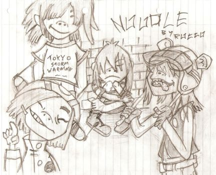 Gorillaz - Noodle by Rancid574