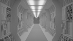 Space Corridor - Blender 3D WIP 3 by shugs81