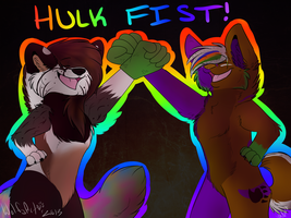 Hulk Fist :COM: by whitewolfspup