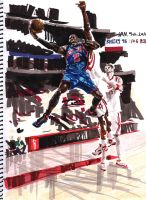 Nate Robinson by A-BB