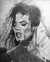 michael jackson sketch by dezz1977