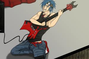 Rory Rock by Gothie666