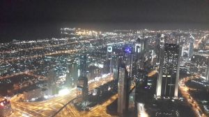 Dubai View From Burj Khalifa @ Night 2 by sds49in