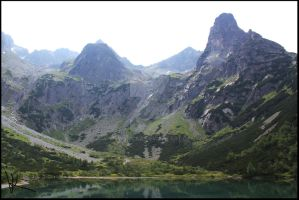 Pride of Slovakia #2 - Green Lake, High Tatras by Wewericka