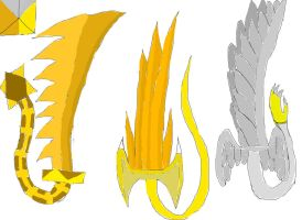 Sacred Swords Blade Forms by SonicAsura