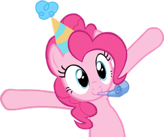Pinkie Pie Vector by Lisosaurus