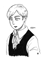 SNK: Kidwin for inktober by qianying