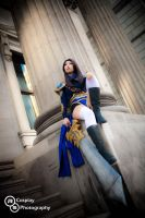 Garen (genderbent) [League of Legends] by QTxPie