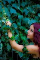 Poison Ivy cosplay from DC Comics by altugisler