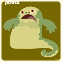 j is for jabba by striffle