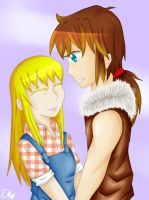 SS gift - Cliff and Claire by EllenorMererid