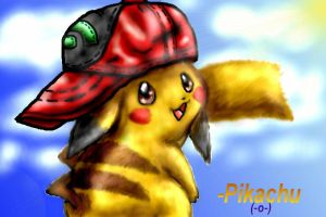 Realistic Pikachu by AdvanceX