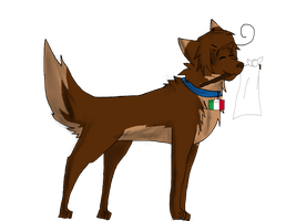 APH - Italy Wolf by blackandredwolf96