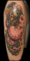 Temporary Snake Gypsy 2nd Sesh by Uken