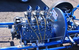 Early Flathead Dragster-Detail by StallionDesigns