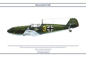Bf 109 E-1 JG51 2 by WS-Clave
