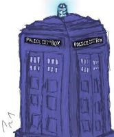 Iscribble-TARDIS by Ms-Silver