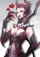 Elise The Spider Queen by rika-dono