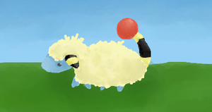 179 Mareep by snickums10