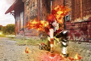 The Firehawk 3 by Smikimimi