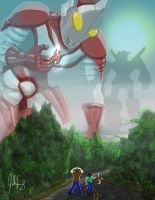 Ultraman Fallen by manguy12345