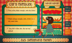 Jus Semangka Melon by sweetterara