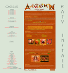 Seasons Autumn Journal Vol.1 - Easy.Install by poserfan