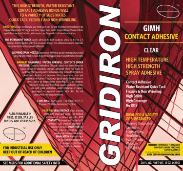 Gridiron Label Aerosol GIMH by zorcon69
