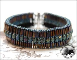 Tila Accordion Bracelet by GoodQuillHunting