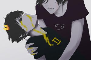 Karkat and Sollux by Maruta-chan6