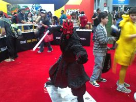 NYCC 2012 - Lego Darth Maul by DestinyDecade