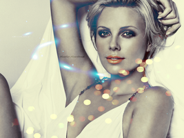 Charlize Theron by Heather-Heartbreak