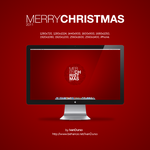 Merry Christmas 2011 Wallpaper by redsoul90