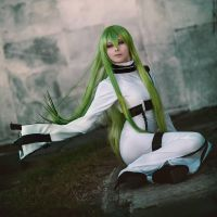 C.C. from Code Geass - Cosplay by yukinohanacosplayart