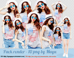 [Share] Render pack ulzzang 10 png by Wang Mayu by IvyNguyen
