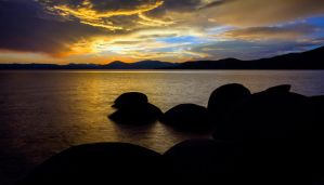 Tahoe on a Very Pleasant Friday Evening by sellsworth