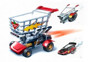 Canadian Tire: Carts of Fury by RUSKULL