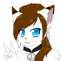 .:Peace and Kittens:. by LovelessKia