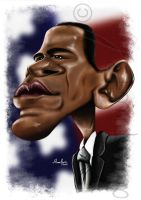 Barack Obama by dilmarjunior