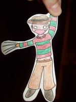 Freddy Paper Child by GeistGirl
