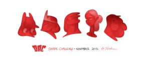 Shape Challenge   November 2015 by Tsvetka