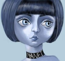 im BLUE by manet